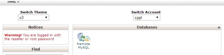remote access to MySQL