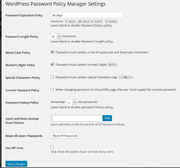 wordpress-password-expiry
