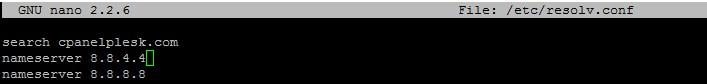 DNS configuration5